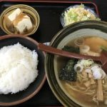 新潟  人気定食屋さん【味自慢 ポンポ子】初めてラーメン食べた☆