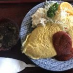 新潟 長岡のデカ盛り店【お食事処 喜味屋(きみや)】で枕オムライス☆