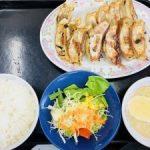 新潟 中央区の全国チェーン店【餃子の王将 弁天橋店】餃子定食試した☆