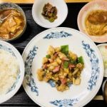 新潟 中央区の穴場飲食店【中国料理 大将】日替定食食べた☆