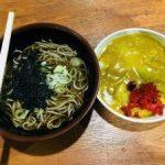 新潟 中央区の全国区B級グルメ【バスセンター 名物 万代そば】そばとカレー食べた☆
