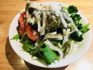 ポポラマーマ バイキングのサラダ