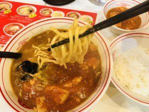 蒙古タンメン 麺リフト